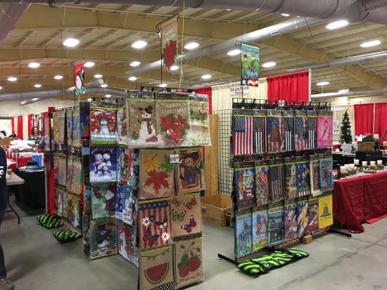 Heres our our booth at the Tis the Season Holiday Fair on Nov. 17-19 in Asheville, NC.