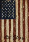 Click to enlarge image Old Glory #126 - Garden Flag Patriotic -